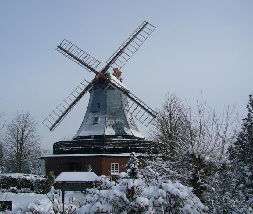 Pirsch-Mühle im Winter
