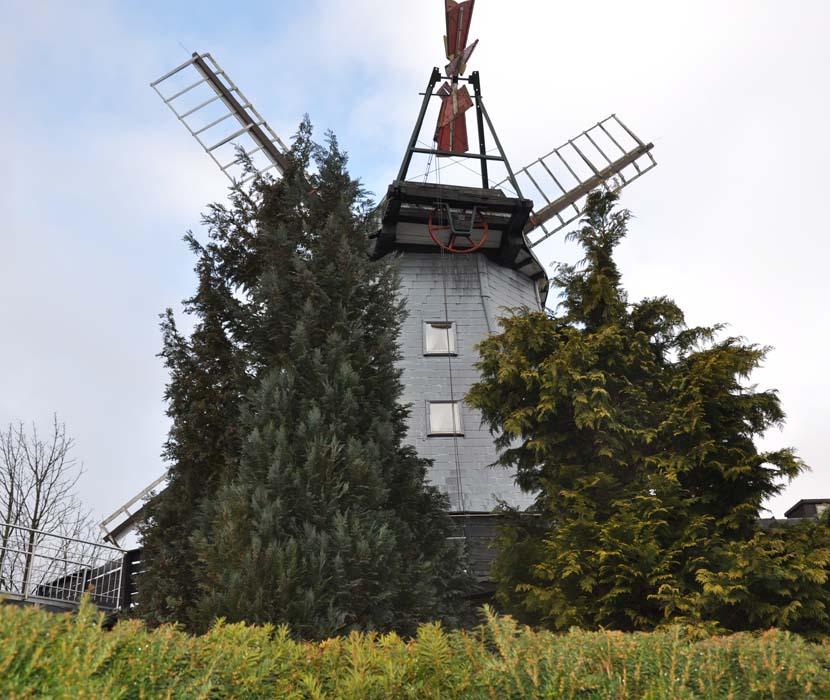 Hinteransicht der Pirsch-Mühle