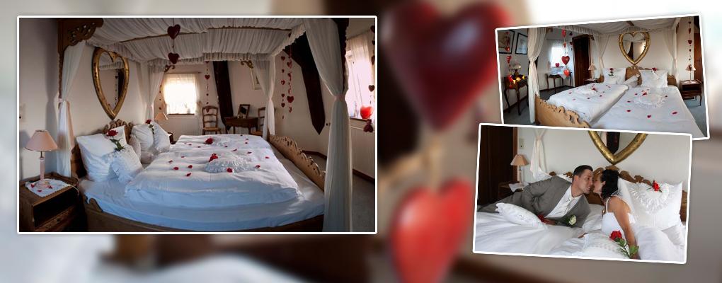 Das Hochzeitszimmer der Pirsch Mühle – ein Zimmer zum Verlieben!