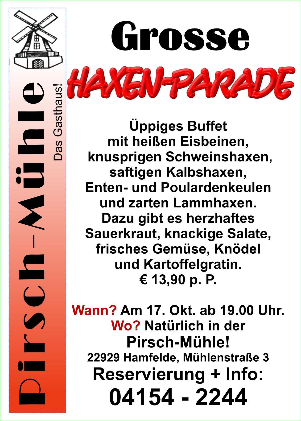Haxen-Parade