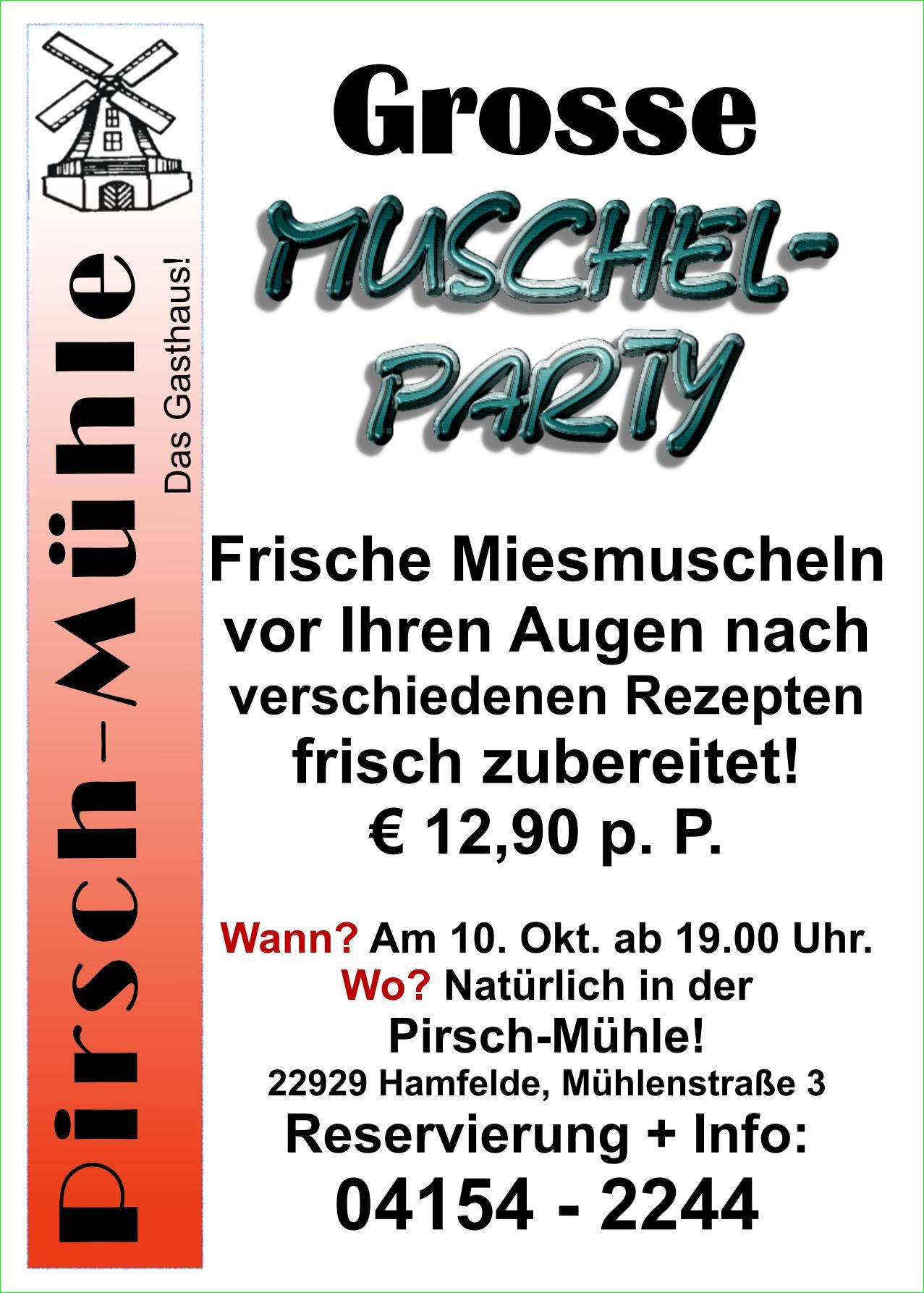 Muschel-Party
